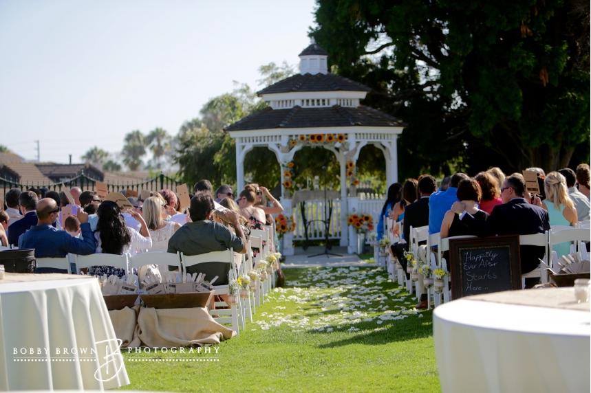 Newland Barn Wedding Ceremony